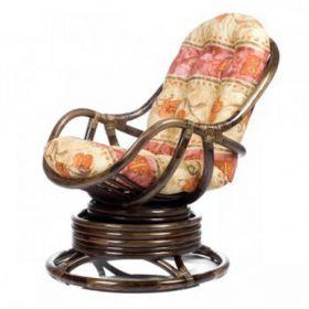 Кресло-качалка Kara с подушкой+плед