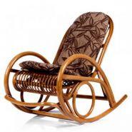 Кресло-качалка Medan с подушкой+плед